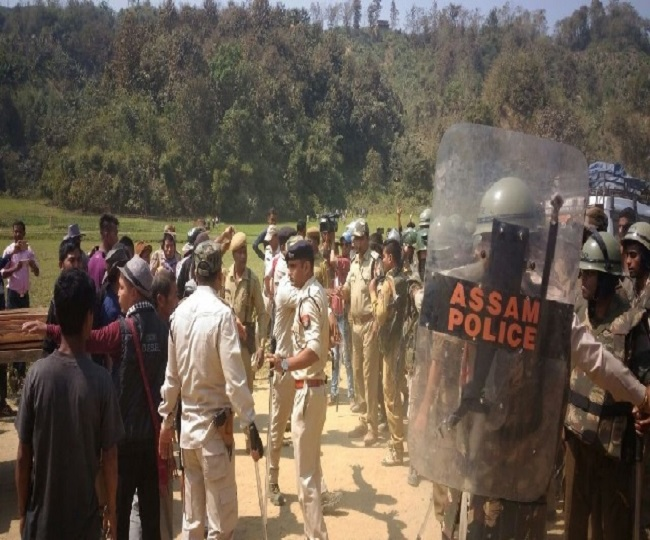 Reports Of Firing At Assam-Mizoram Border; Chief Ministers' Twitter Fight